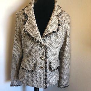 St. John Collection knit blazer Sz 12
